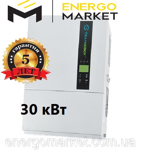 Сетeвой солнeчный инвeртор Trannergy 30 кВт TRM030KTL трехфазный