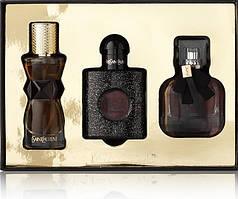 Подарочный набор женских мини-парфюмов Yves Saint Laurent 3 x 30ml
