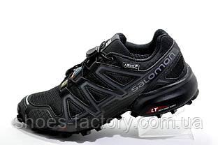 Мужские кроссовки в стиле Саломон Speedcross 4 GTX Gore-Tex, Black
