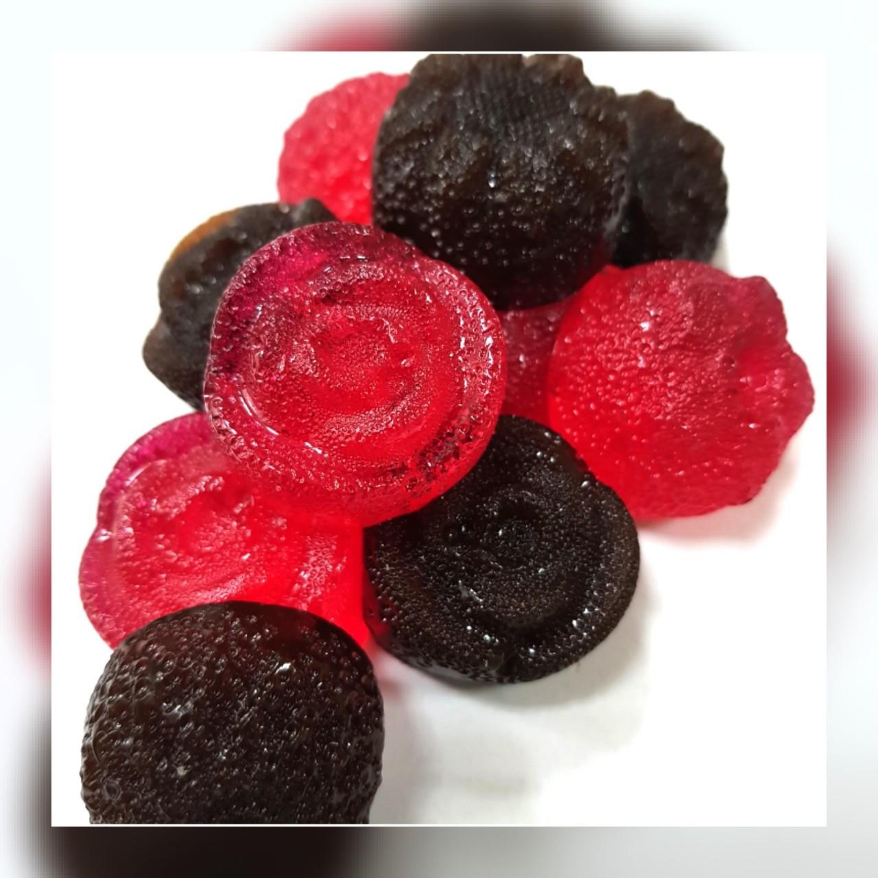 Жевательный мармелад Роза (  малина в шоколаде) 200грамм