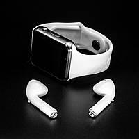Набор Смарт-часы A1  + bluetooth наушники