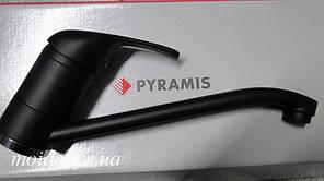 Смеситель для кухни классический Pyramis (Пирамис) Modo carbon