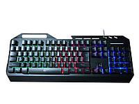 Клавиатура мультимедийная с подсветкой Havit HV-KB471L
