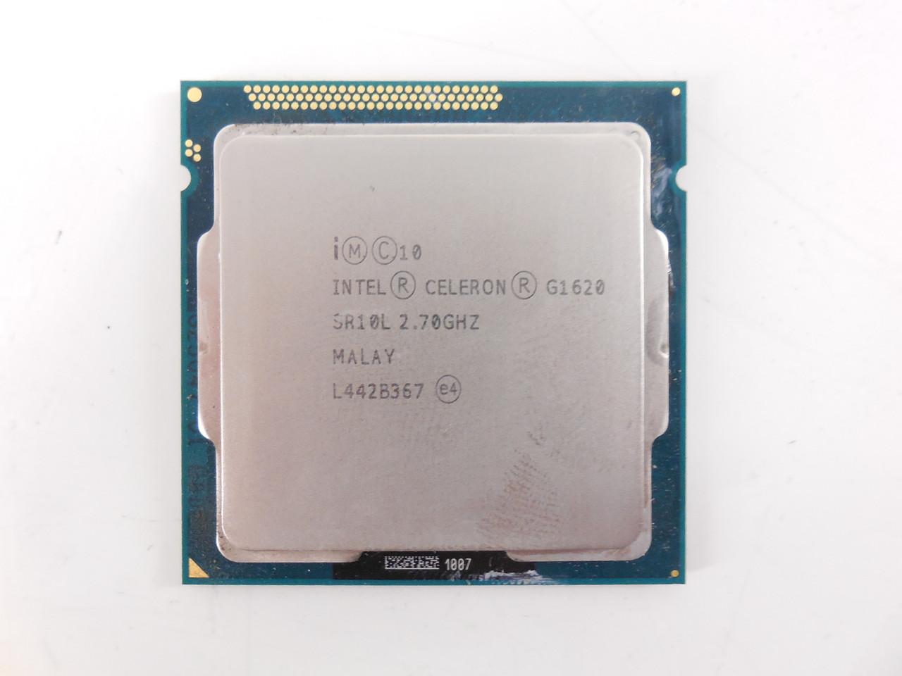 Процессор Intel Pentium G 1620 1155 сокет (3M Cache, 2.7 GHz)