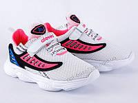 """Кроссовки детские """"Violeta"""" 1001F white-pink (31-35) - купить оптом на 7км в одессе"""
