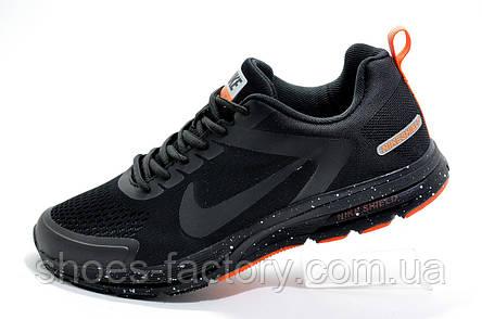 Беговые кроссовки в стиле Nike Shield Structure 17, Black\Orange, фото 2
