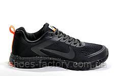 Беговые кроссовки в стиле Nike Shield Structure 17, Black\Orange, фото 3
