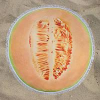 Пляжное полотенце круглое LETTO Дыня 150 см