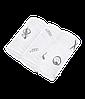 Набор хлопковых пеленок Muslin для детей (3 шт., р. 70х70 см) ТМ MATCHISTICK MONKEY Серый MM-LOCM-001