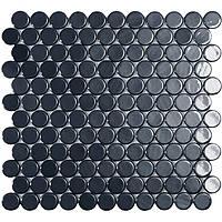 Мозаїка 30,1*31,3 Br Black Circle 6005C