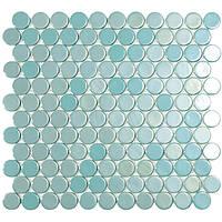Мозаїка 30,1*31,3 Br Turquoise Circle 6001C