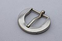 Пряжка сумочная, ширина - 20 мм, цвет - никель, артикул СК 5411