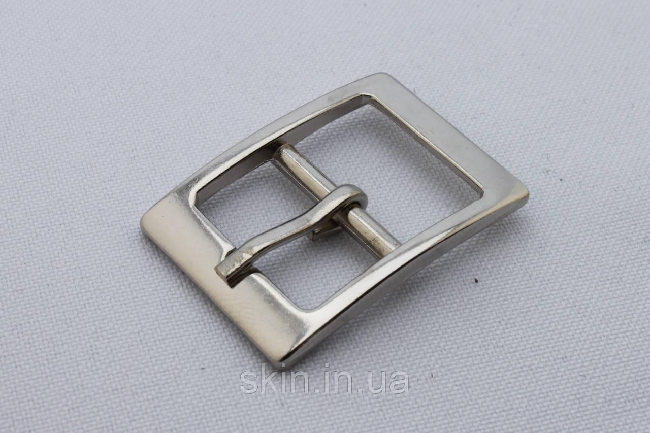 Пряжка сумочная, ширина - 19 мм, цвет - никель, артикул СК 5413