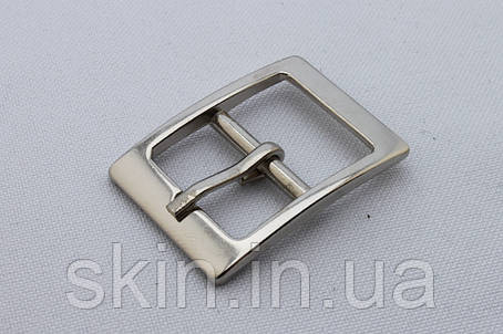 Пряжка сумочная, ширина - 19 мм, цвет - никель, артикул СК 5413, фото 2