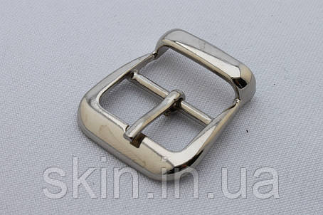 Пряжка сумочная, ширина - 20 мм, цвет - никель, артикул СК 5415, фото 2