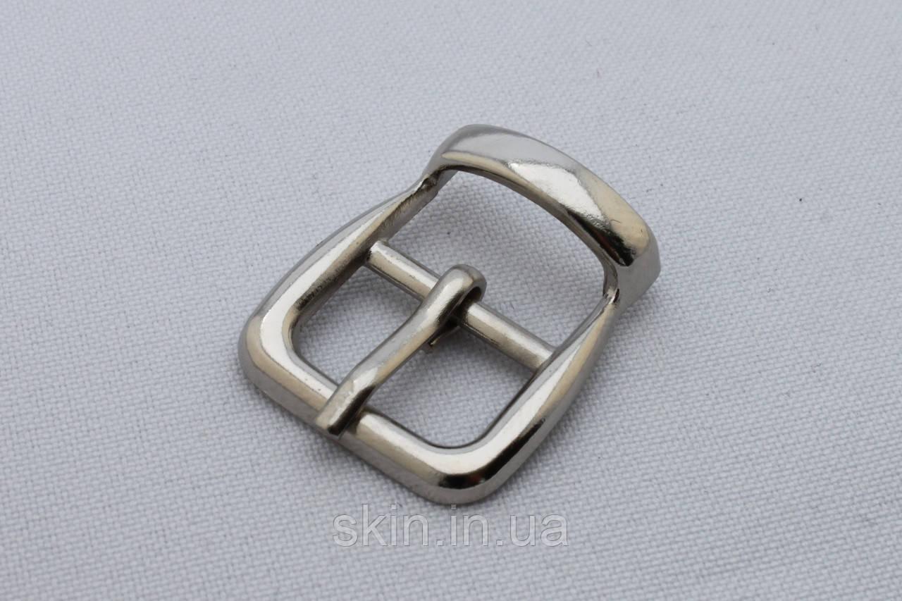 Пряжка сумочная, ширина - 15 мм, цвет - никель, артикул СК 5416