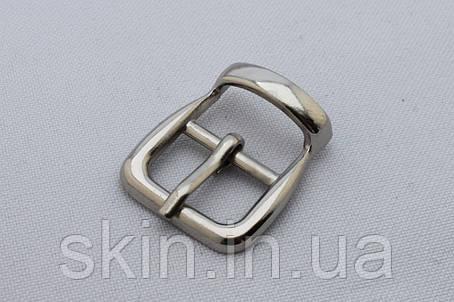 Пряжка сумочная, ширина - 15 мм, цвет - никель, артикул СК 5416, фото 2