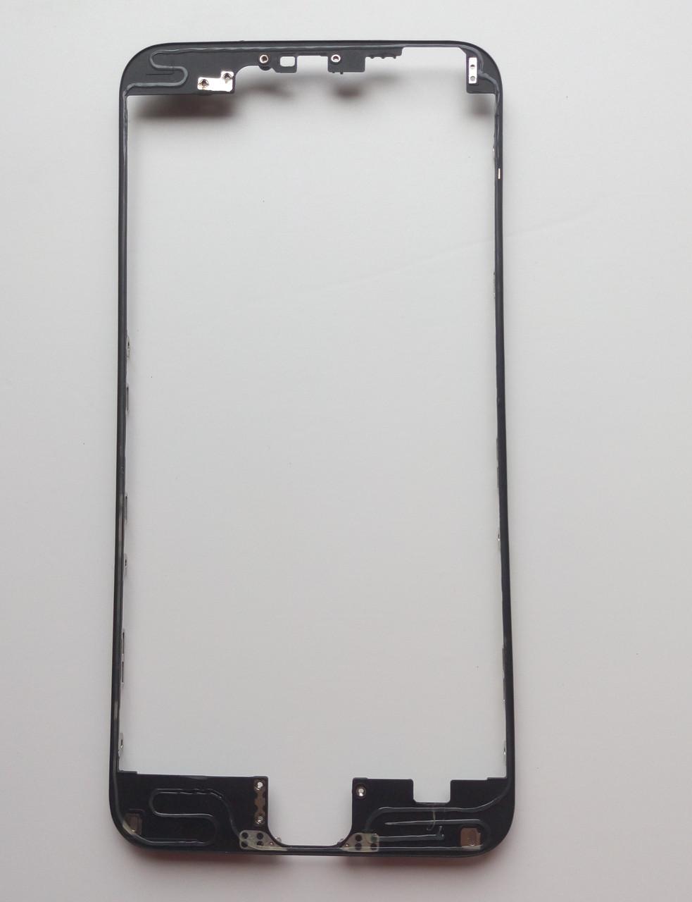 Рамка крепления дисплейного модуля для Apple Iphone 6 PLUS Black