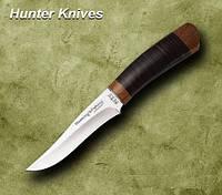 Нож охотничий 2256 LP. Рукоять - кожа наборная,охотничьи ножи,товары для рыбалки и охоты,оригинал