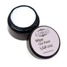 Гель-краска Wipe Gel Paint Komilfo № 002 белый