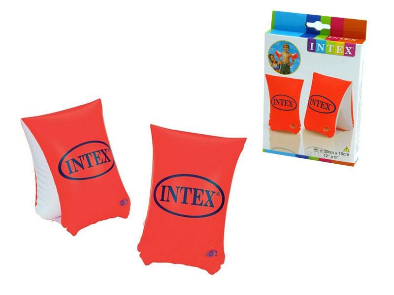 """Intex Нарукавник Н 58641 NP (36) """"Люкс"""" для детей с 3-х лет, размером 30х15см"""