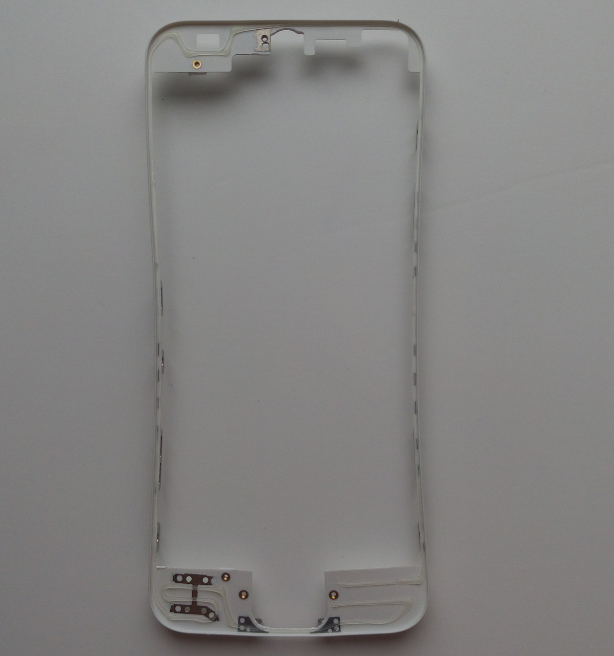 Рамка крепления дисплейного модуля для Apple iPhone 5 white