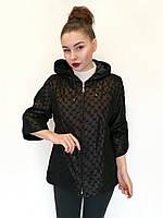 Куртка замшевая Oscar Fur 445 Черный, фото 1