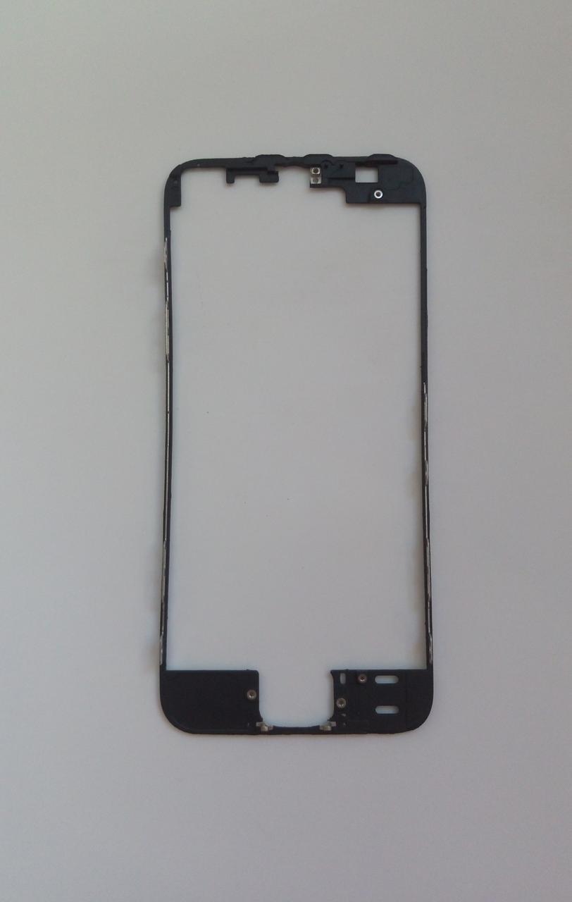 Рамка крепления дисплейного модуля для Apple iPhone 5S Black