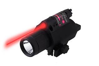 Фонарь + лазер подствольный JGSD-R