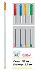 Рукоятка (кий) для швабры алюминиевая с резьбой AES 286