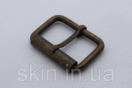 Пряжка сумочная, ширина - 30 мм, цвет - антик, артикул СК 5436, фото 2