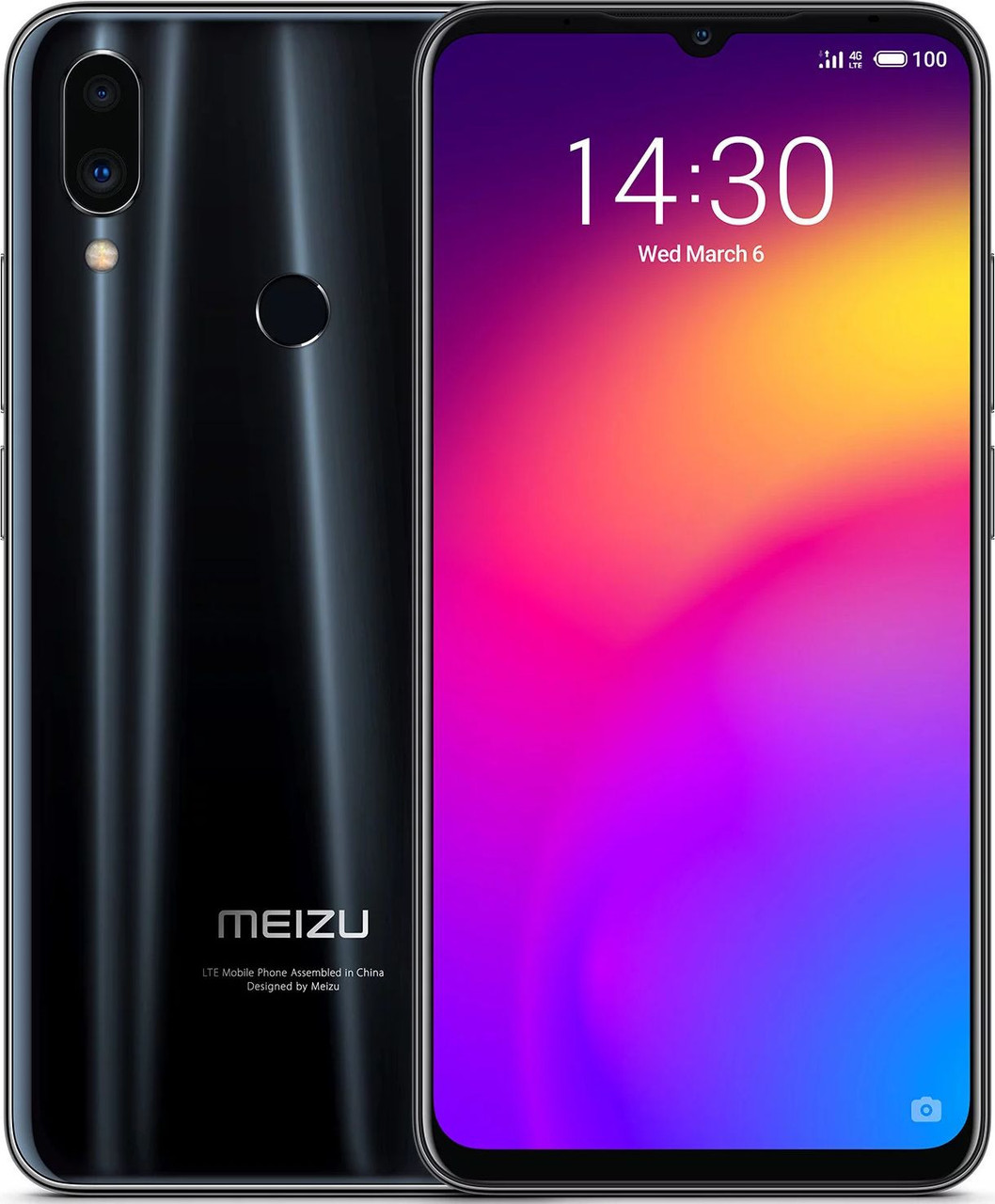 Глобальная версия Meizu Note 9 Black 4/64Gb