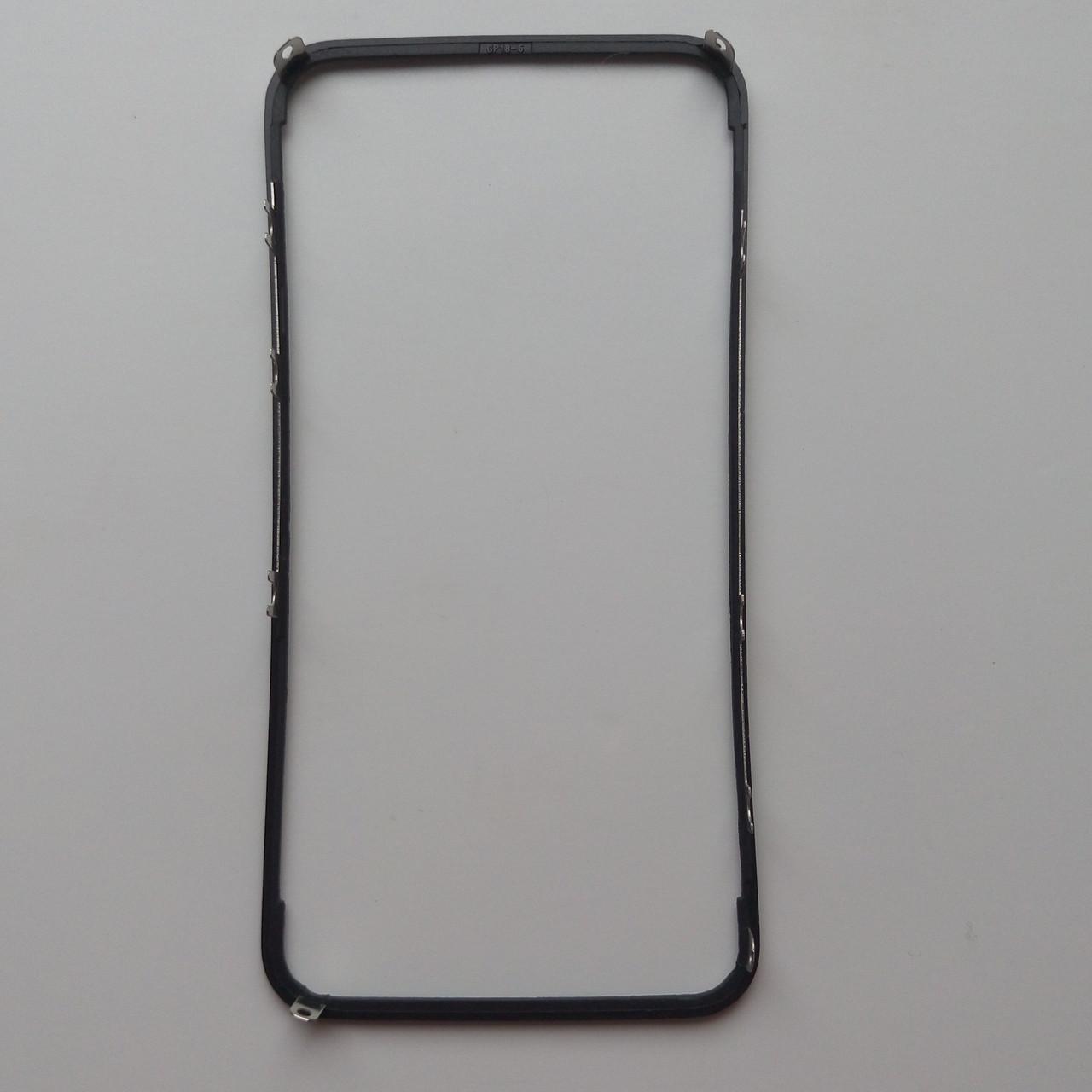 Рамка крепления дисплейного модуля для Apple iPhone 4 Black