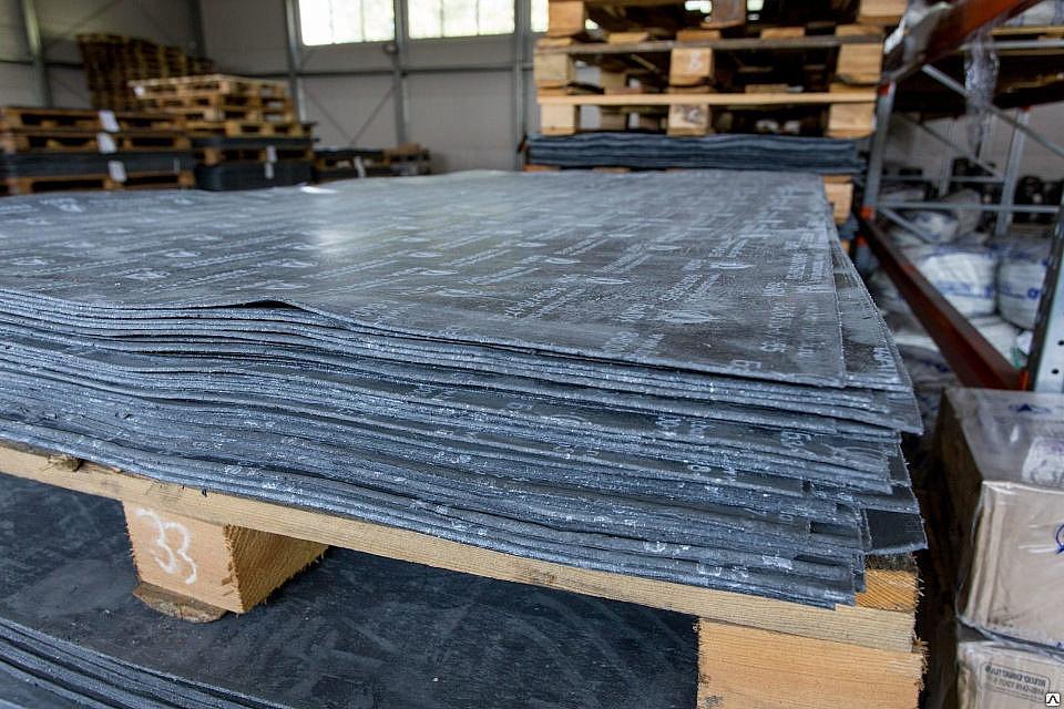 Паронит листовой ПМБ 0,6ммх1,5мх1,5м 4кг