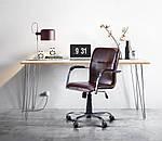 Кресло Самба-RC Хром орех Неаполь N-17 с кантом, фото 10