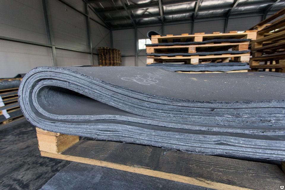 Паронит листовой ПОН-Б 5ммх1,5мх3м 46,5 кг