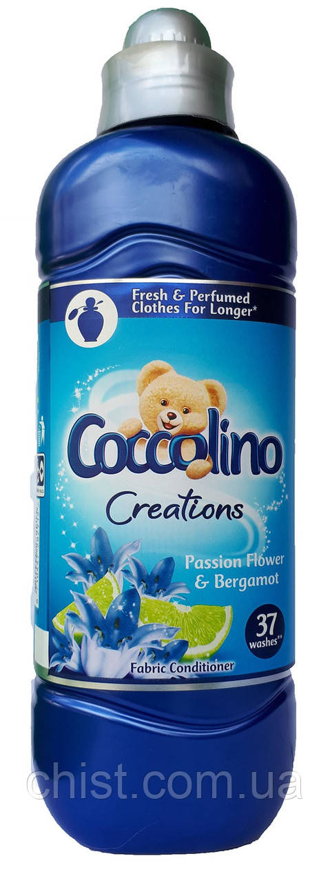 Coccolino ополаскиватель для белья Flower & Bergamot (925мл=37ст)