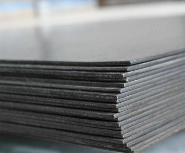 Лист сталевий ст 09Г2С розміром 8х1250х2500 мм гарячекатаний