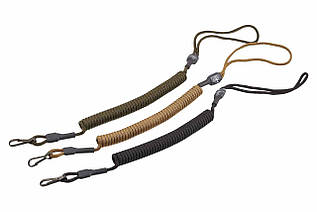 Страховочный шнур-S02-комбинированный с карабином