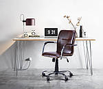 Кресло Самба-RC Хром орех Неаполь N-20 без канта, фото 7