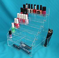 Органайзер под лак для ногтей с ящиком, фото 1