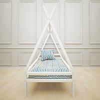 """Детская Кроватка Домик LNK Company """"Эскимос"""" с ножками 180x70 Белый"""
