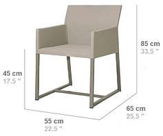 "Обеденный стул ""MONACO - Outdoor & Indoor"""