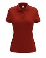Футболка женская Polo красная