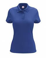 Футболка женская Polo синяя