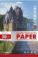 Термотрансфер Lomond для лазерных принтеров для светлых тканей, А3, 50 л