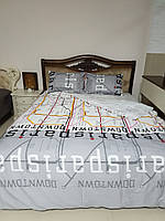 Ліжко (кровать) з різьбою з масиву дерева(ясен) з м'якою частиною.