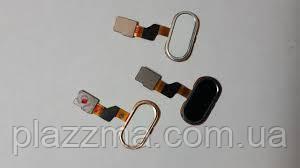 Шлейф Meizu M3s с наружной кнопкой Home, цвет black, prc