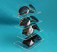 Подставка под очки 4 уровня прозрачная, фото 1