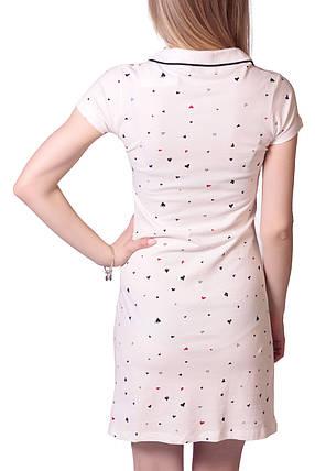 Платье женское поло Divon 8019, фото 2